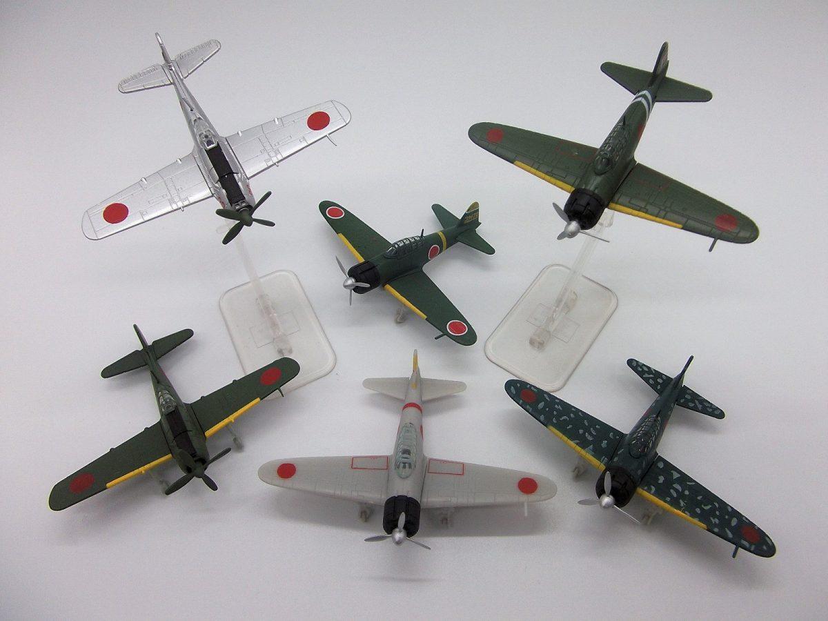タカラトミーアーツ 1/144 WWⅡ戦闘機コレクション 日本機編